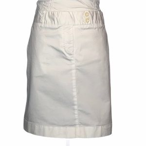 Vineyard Vines White Chino Style Skirt